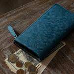シュランケンカーフの革財布