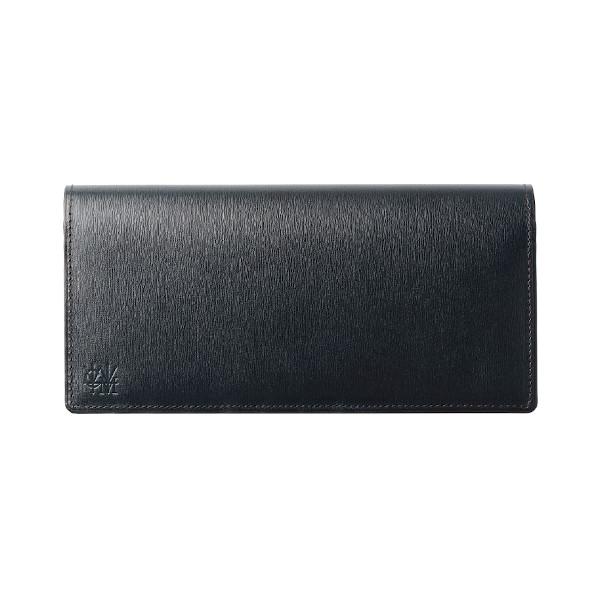 フランス産ボックスカーフ仕立ての長財布「カヴァレオ・キファル」